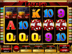 Lady in Red Slot Screenshot