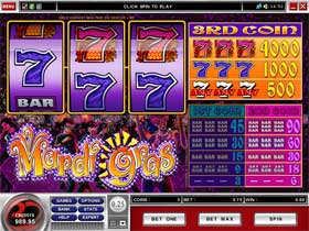 Mardi Gras Slot Screenshot